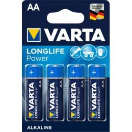 PILES VARTA AA LR6 X 4 1.5 V
