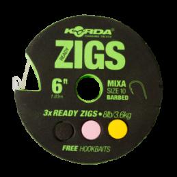 READY ZIGS 10  300 CM T 10
