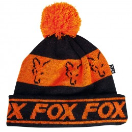 FOX BLACK ORANGE LINED BOBBLE
