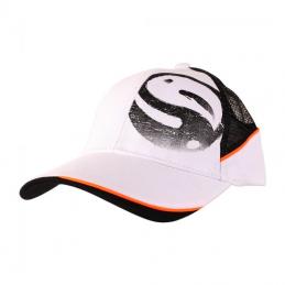 Brush logo mesh cap