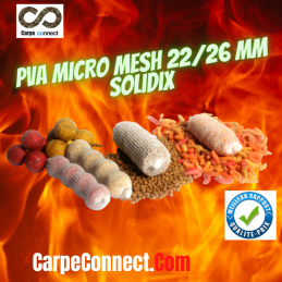 SOLIDIX RECHARGE PVA MESH  MICRO MAILLE 22-26 MM 50 M