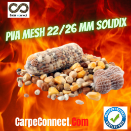 SOLIDIX RECHARGE PVA MESH MAILLE STANDARD 22-26 MM 100 M
