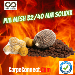 SOLIDIX RECHARGE PVA MESH MAILLE LARGE 32-40 MM 25 M