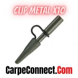 DISTANCE CLIP METAL LEAD X 10